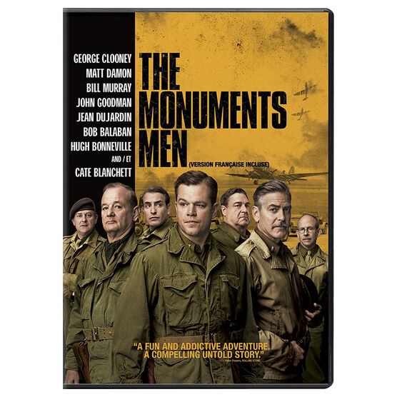 The Monuments Men - DVD
