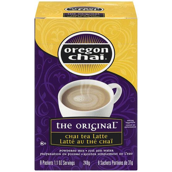 oregon chai the original chai tea latte mix 8 packets london drugs. Black Bedroom Furniture Sets. Home Design Ideas