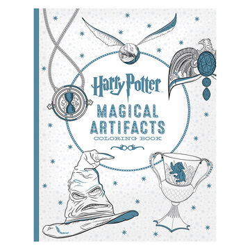 Harry Potter Magical Artifacts Colouring Book