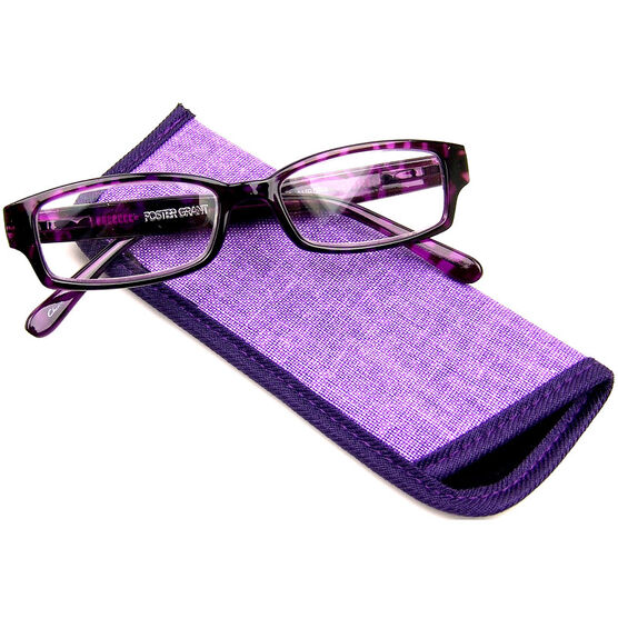 Foster Grant Aurora Reading Glasses with Case - 1.50