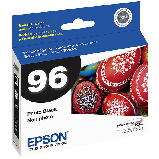 Epson Stylus Photo R2880 Ink Cartridge - Photo Black - T096120
