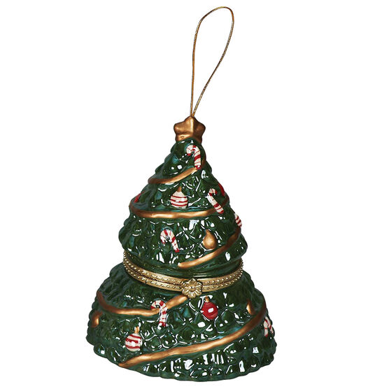 Porcelain Music Box - Christmas Tree