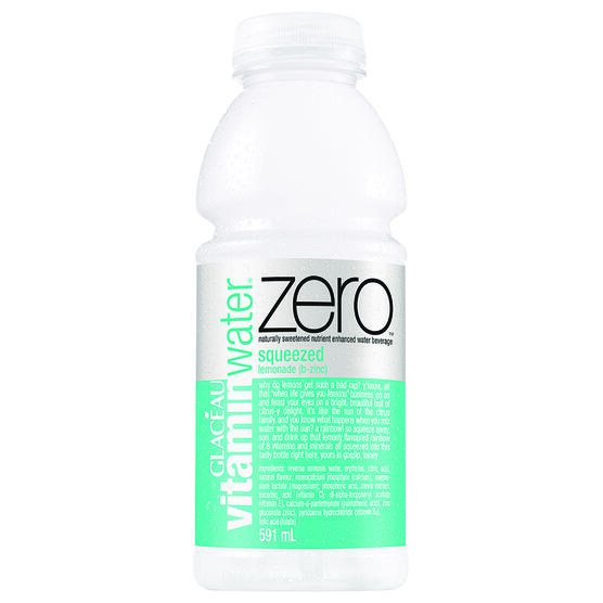 Vitamin Water Zero - Squeeze - 591ml