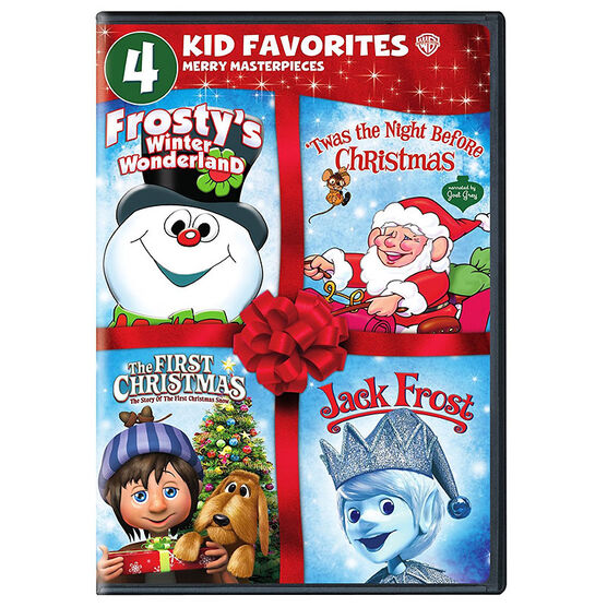 4 Kid Favorites Merry Masterpieces - DVD