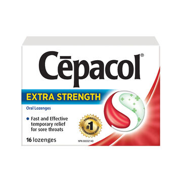 Cepacol Extra Strength Oral Lozenges - Cherry - 16's