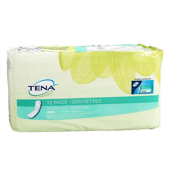 Tena Pads Moderate Regular - 72's / Jumbo