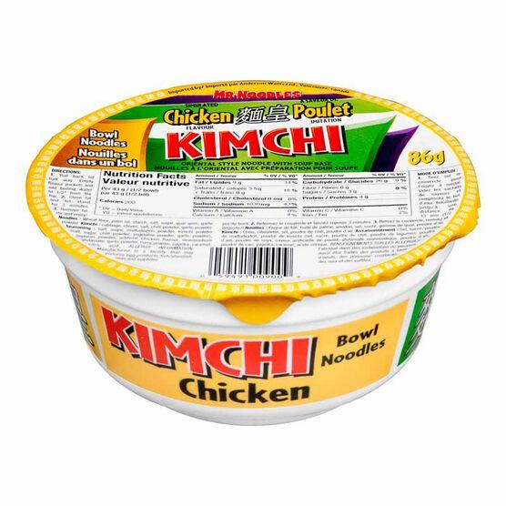 Mr. Noodles Kimchi Chicken - 86g