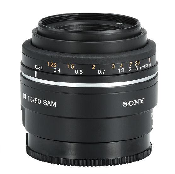 Sony 50mm f/1.8 SAM Telephoto Lens - SAL50F18