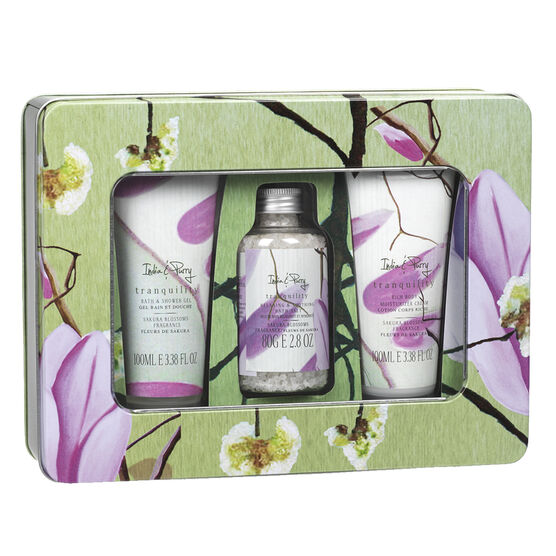 India & Purry Tranquility Keepsake Tin Set - 3 piece