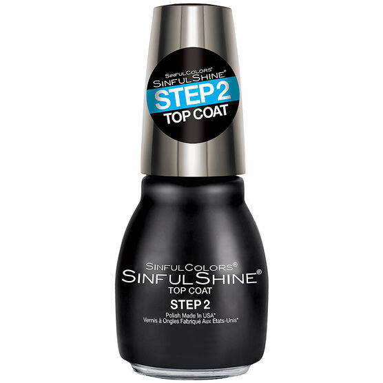 Sinful Shine Nail Color - Top Coat