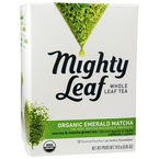 Mighty Leaf Whole Leaf Tea - Organic Emerald Matcha- 12's
