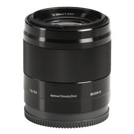 Sony E Mount DT 50mm F1.8 Lens - Black - SEL50F18B