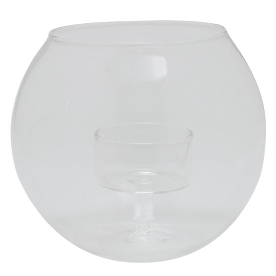 Nuvo Glass Tealight Globe - 4.7x4.7x4inches