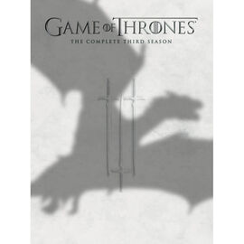 Game Of Thrones: The Complete Third Season - DVD