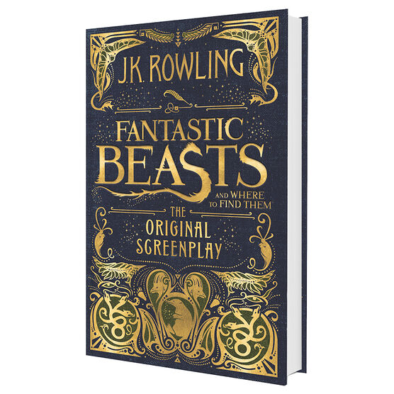 Fantastic Beast and Where to Find Them by J.K. Rowling