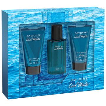 Davidoff Cool Water Man Fragrance Gift Set - 3 piece