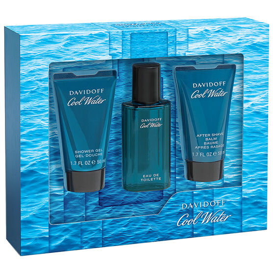Davidoff Cool Water Man Fragrance Gift Set - 3 piece