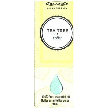 Relaxus Aromatherapy 100% Pure Essential Oil -Tea Tree - 10ml