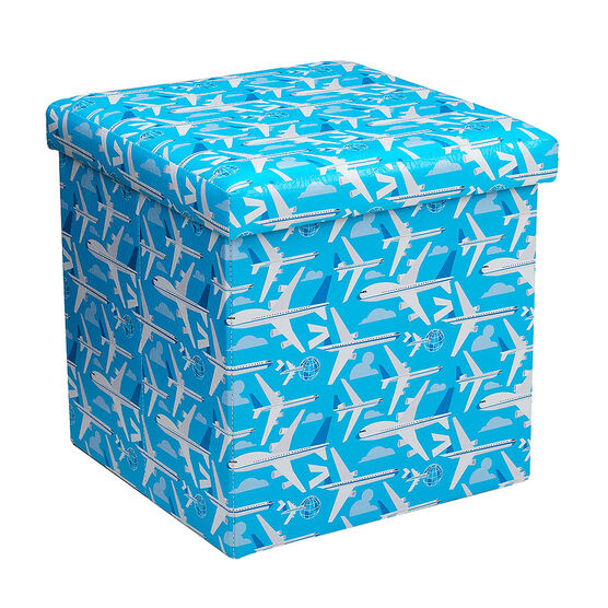 London Drugs Folding Storage Box - Planes