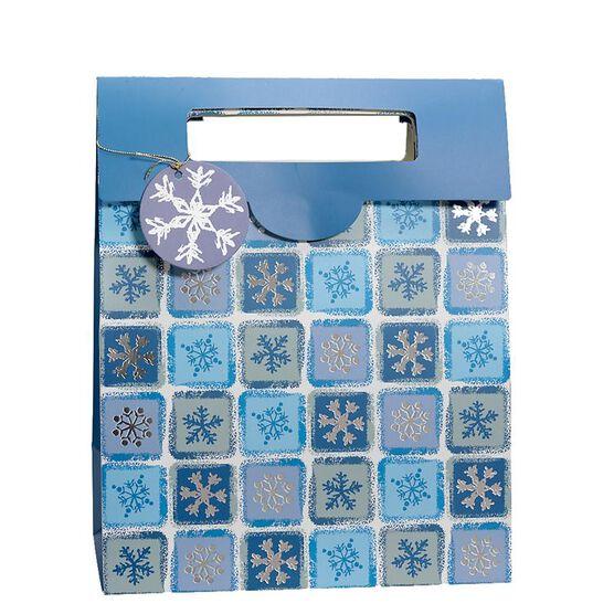 Christmas Flip Top Gift Bag - Assorted