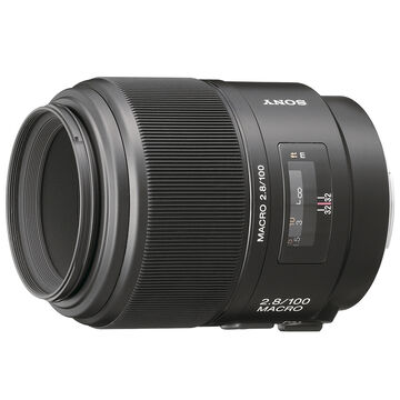 Sony 100mm f/2.8 Macro Lens - SAL100M28