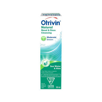 Otrivin Moderate Stream Saline - 100ml