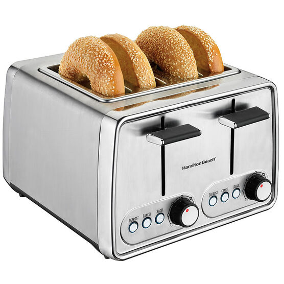 Hamilton Beach 4-Slice Toaster - Chrome - 24791C