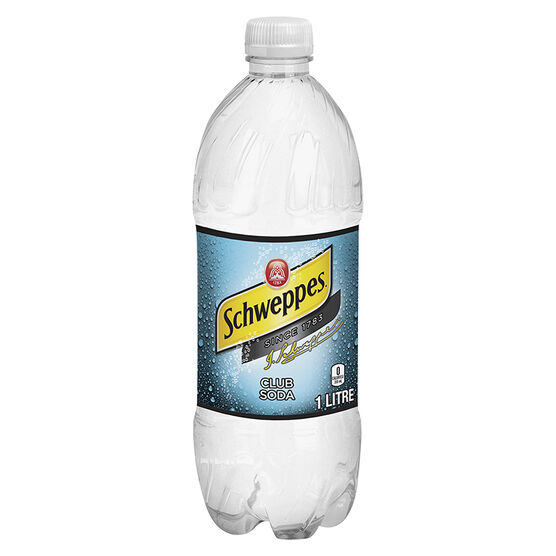 Schweppes Club Soda - 1L
