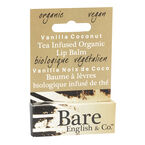 Bare English Tea Infused Organic Lip Balm - Vanilla Coconut - 4.44ml