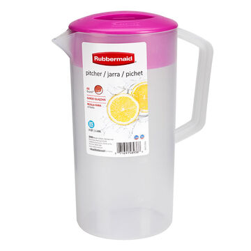 Rubbermaid Durable Pitcher - Passionfruit - 1.89L
