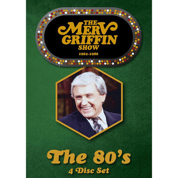 The Merv Griffin Show: The 80's - DVD