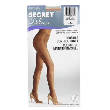 Secret Deluxe Reveal In-Control Pantyhose - D - Bare Mist