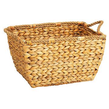 London Drugs Water Hyacinth Curved Basket - Large