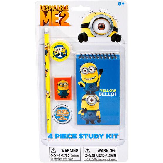 Minions Study Kit - 4 piece