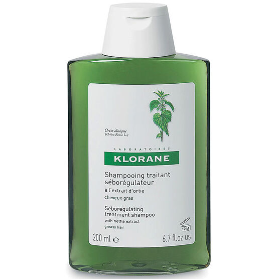 Klorane Seboregulating Treatment Shampoo with Nettle Extract - 200ml