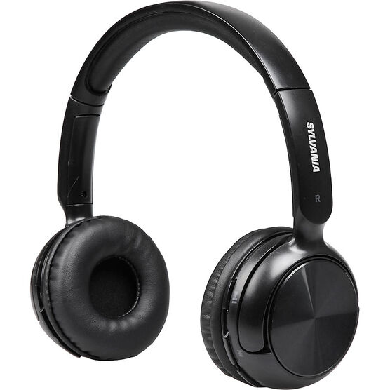 Sylvania Bluetooth Headphones - Black - SBT235BLA