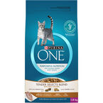 PURINA ONE Smartblend Cat Food - Chicken and Rice - 1.8 kg