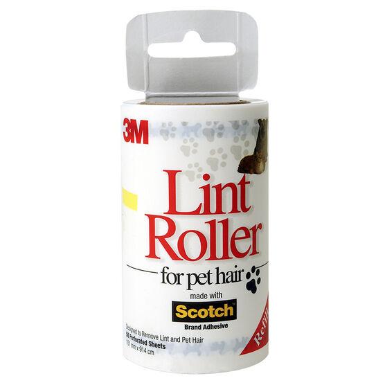 Scotch Pet Lint Roller Refill - 56 sheets