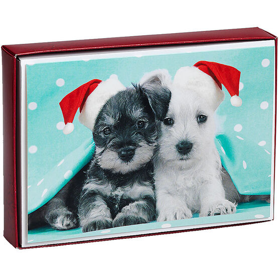 Plus Mark Christmas Cards - Pets - 16 count - Assorted