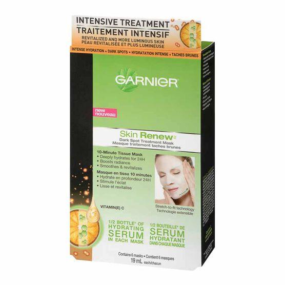 how to use garnier skin renew dark spot treatment mask