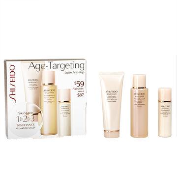 Shiseido Benefiance Wrinkle Resist 24 Age-Targeting 1-2-3 Kit