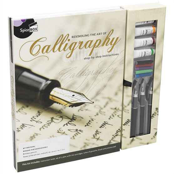 Spicebox Master Class - Calligraphy