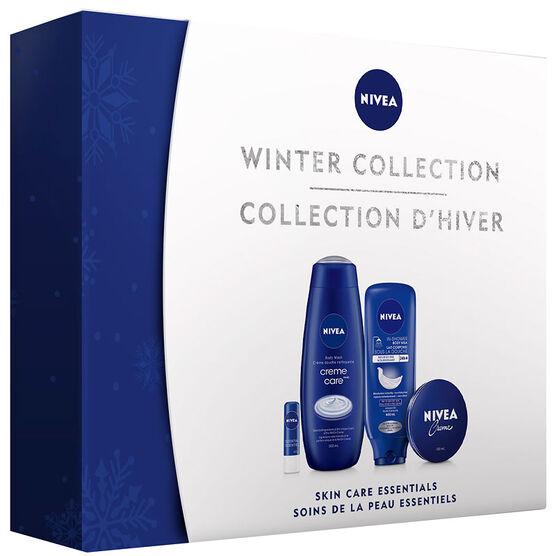 Nivea Winter Collection Skin Care Essentials - 4 piece