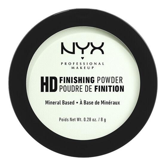 NYX High Definition Finishing Powder - Mint Green