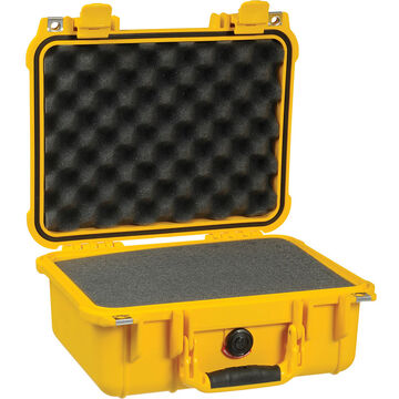 Pelican 1400 Protector Case with Foam - Yellow - 1400-000-240