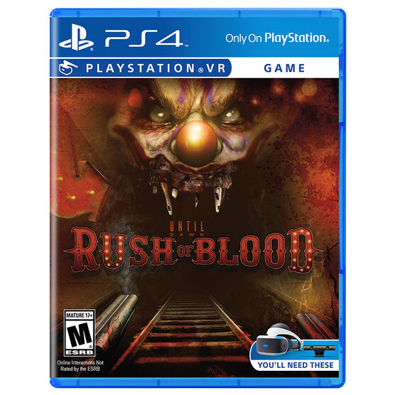 PS VR Until Dawn: Rush of Blood