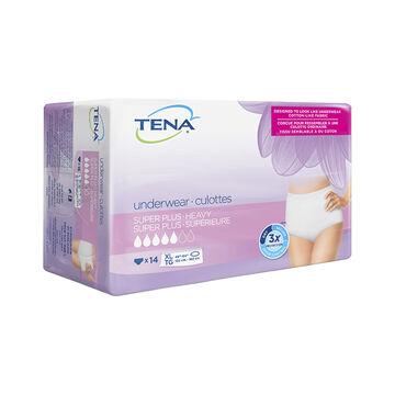 Tena Women Super Plus Protective Underwear - Extra Large - 14's