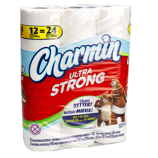 Charmin Bathroom Tissue Ultra Strong - 12's/ Double Roll