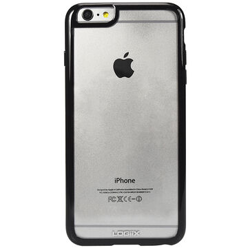 Logiix Gel Guard 5.5 for iPhone 6 Plus - Clear/Black - LGX11015