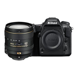 Nikon D500 Body with 16-80mm VR Lens - Black - 33902